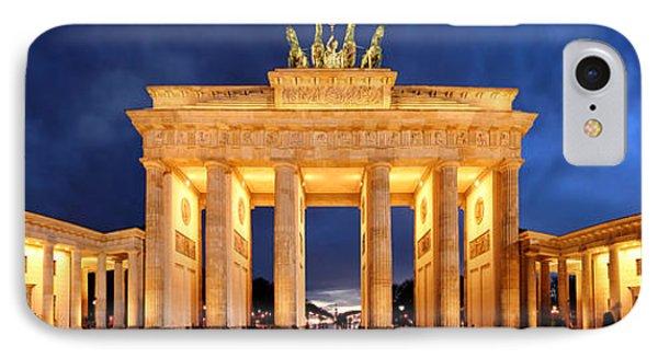 Brandenburg Gate Berlin Panorama IPhone Case
