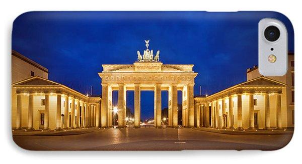Brandenburg Gate IPhone Case by Melanie Viola