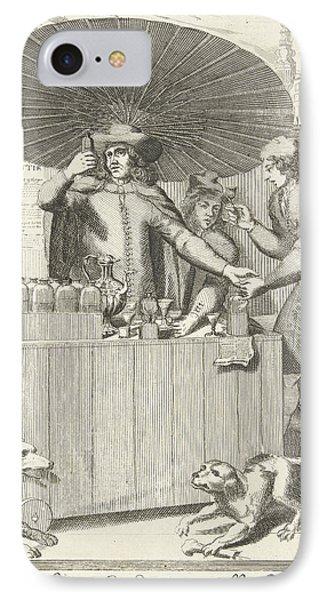 Brandy Seller, Pieter Van Den Berge IPhone Case by Pieter Van Den Berge