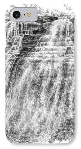 Brandywine Falls - Cuyahoga Valley National Park IPhone Case by Kelli Swan