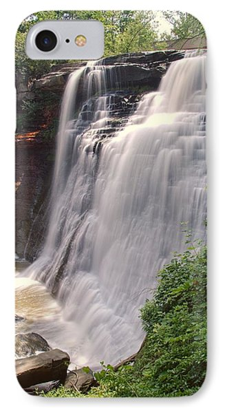IPhone Case featuring the photograph Brandywine Falls by Dennis Lundell