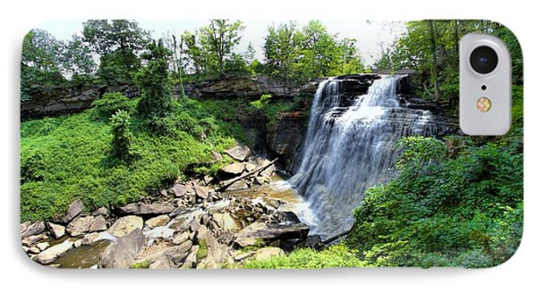 IPhone Case featuring the photograph Brandywine Falls Gorge by Dennis Lundell