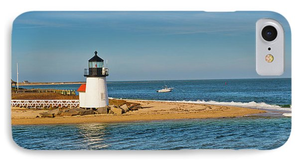 Brant Point Lighthouse Nantucket IPhone Case by Marianne Campolongo