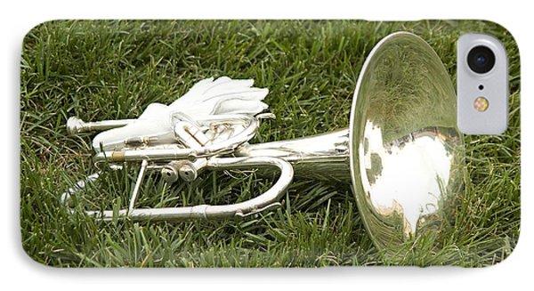 Brass In Grass IPhone Case by Carol Lynn Coronios