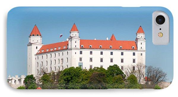 IPhone Case featuring the photograph Bratislava Castle by Les Palenik