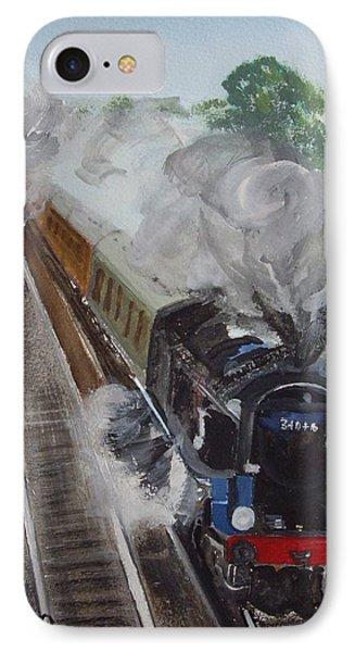 Braunton Potbridge West Of Winchester IPhone Case by Carole Robins