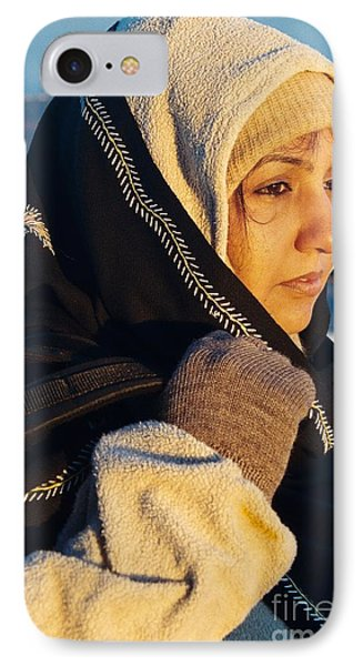 IPhone Case featuring the photograph Braving The Cold by Fotosas Photography