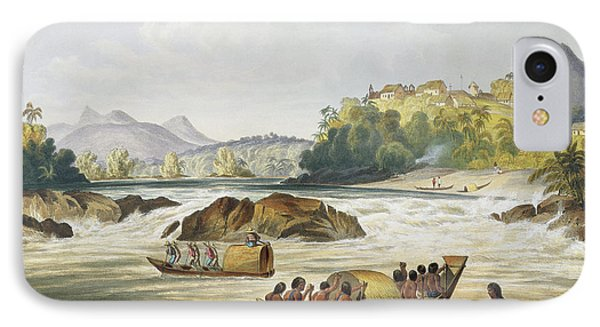 Brazilian Fort St. Gabriel On The Rio IPhone Case by Charles Bentley