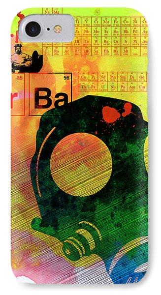 Brba Watercolor IPhone Case by Naxart Studio