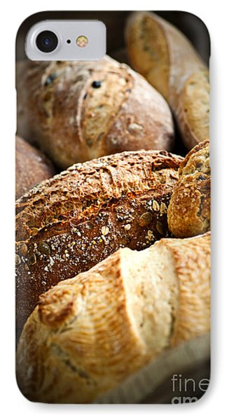 Bread Loaves IPhone Case by Elena Elisseeva