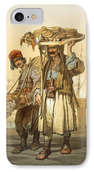 Bread Sellers On The Quay, 1865 IPhone Case