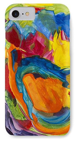 IPhone Case featuring the painting Break Free by Cathy Long