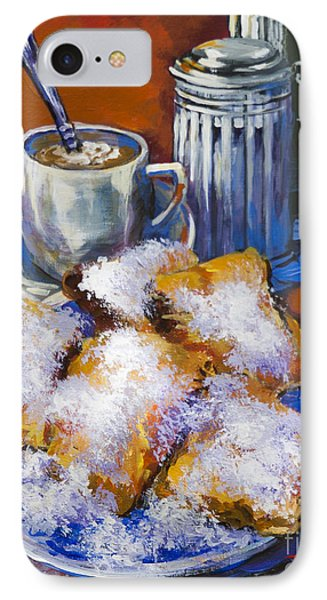 Breakfast At Cafe Du Monde Phone Case by Dianne Parks