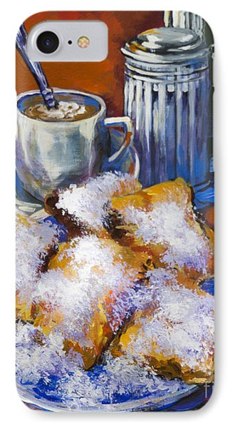 Breakfast At Cafe Du Monde IPhone Case by Dianne Parks