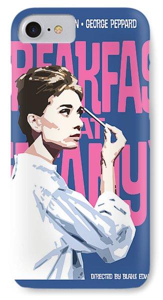 Breakfast At Tiffany's IPhone Case by Douglas Simonson
