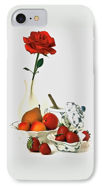 IPhone Case featuring the photograph Breakfast For Lovers by Elf Evans