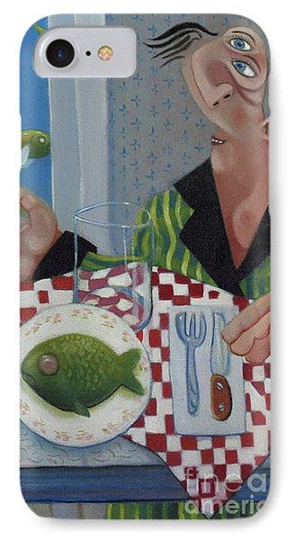 Breakfast In Barbados 1989 Phone Case by Larry Preston