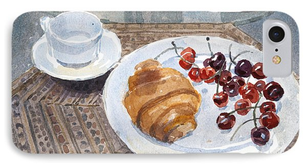 Breakfast In Syria IPhone Case by Lucy Willis
