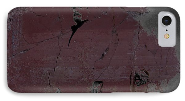 IPhone Case featuring the digital art Breaking Bad Concrete Wall by Brian Reaves