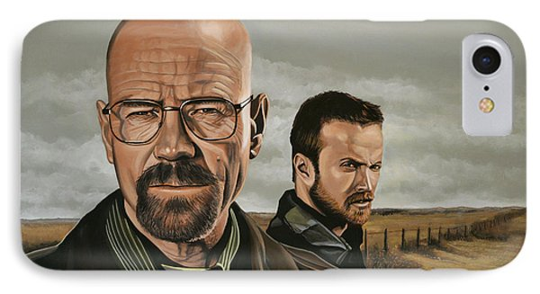 Breaking Bad Phone Case by Paul Meijering