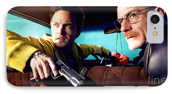 Breaking Bad IPhone Case by Paul Tagliamonte