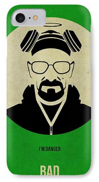 Breaking Bad Poster Phone Case by Naxart Studio