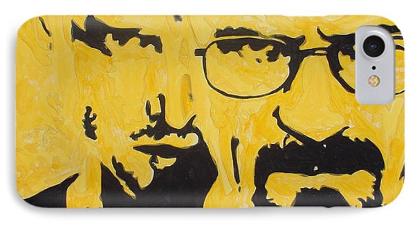 Breaking Bad Yellow IPhone Case by Marisela Mungia