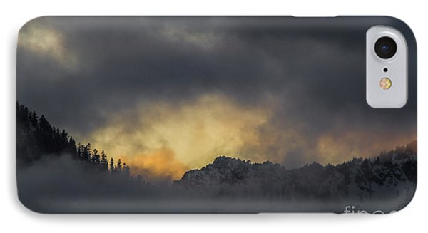 Breaking Storm Phone Case by Mitch Shindelbower