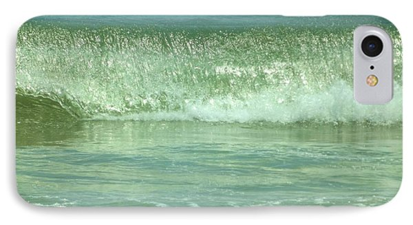 Breaking Wave Calm  IPhone Case by John Wartman