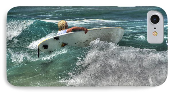 IPhone Case featuring the photograph Breaking Waves by Julis Simo