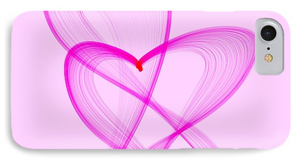 Breast Cancer Awareness . Love IPhone Case by Renee Trenholm