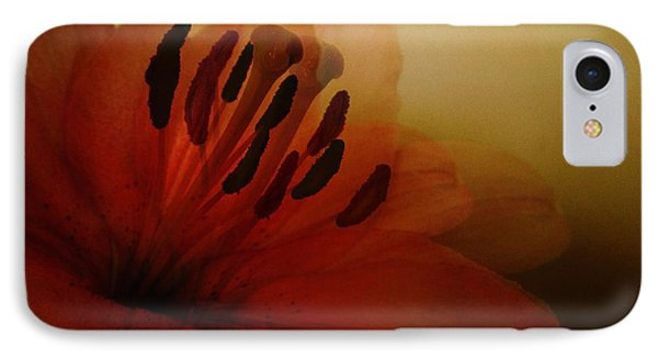 Breath Of The Lily Phone Case by Marianna Mills