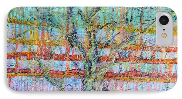Breathe - Tree Of Life 4 Phone Case by Regina Valluzzi