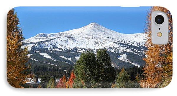 Breckenridge Colorado IPhone Case by Fiona Kennard