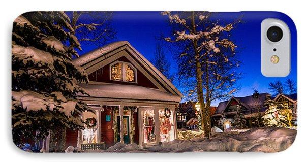 Breckenridge Winter Wonderland IPhone Case