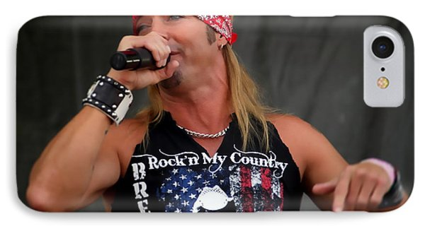 Bret Michaels In Philly IPhone Case by Alice Gipson