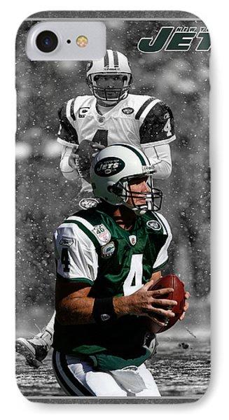 Brett Favre Jets Phone Case by Joe Hamilton