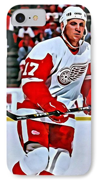 Brett Hull IPhone Case