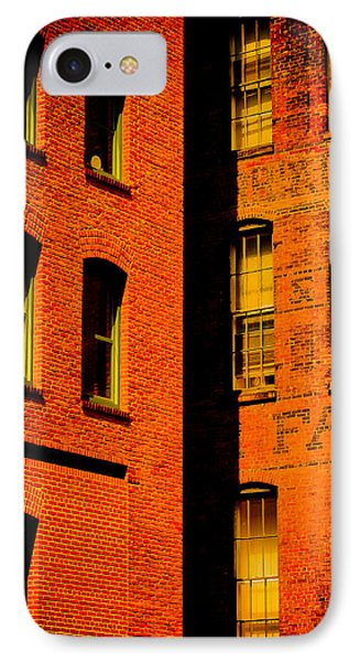 Brick And Glass Phone Case by Matthew Blum