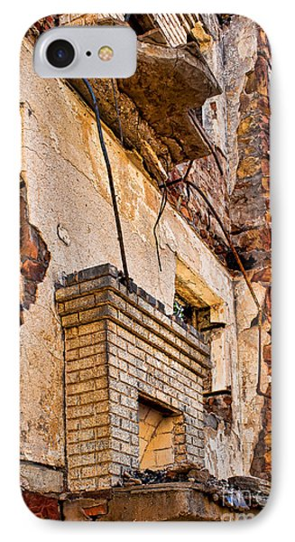 IPhone Case featuring the photograph Brick And Mortar by Lawrence Burry