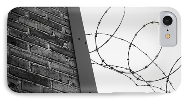 Brick And Wire IPhone Case by John Rossman