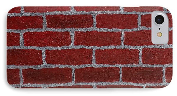 Brick By Brick IPhone Case by Minnie Lippiatt