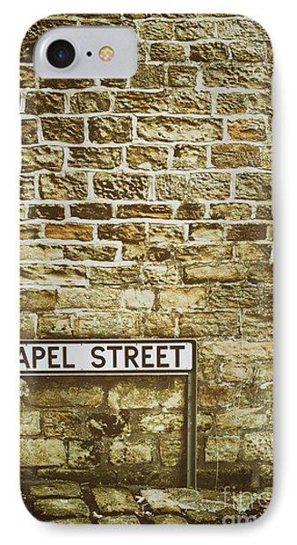 Brick Wall Phone Case by Amanda Elwell