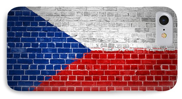 Brick Wall Czech Republic Phone Case by Antony McAulay