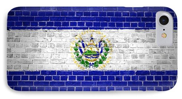 Brick Wall El Salvador IPhone Case by Antony McAulay