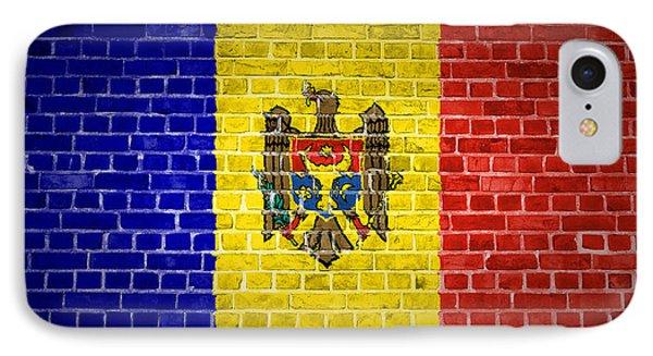 Brick Wall Moldova IPhone Case by Antony McAulay