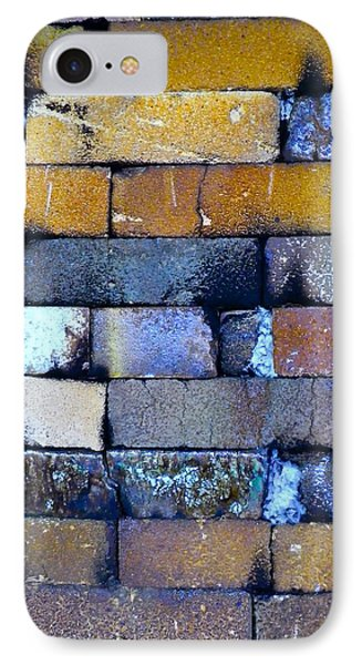 Brick Wall Of A Pottery Kiln IPhone Case by Anna Ruzsan