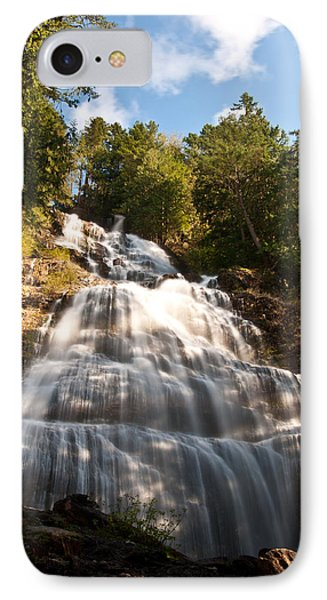 Bridal Veil Falls IPhone Case by Sabine Edrissi