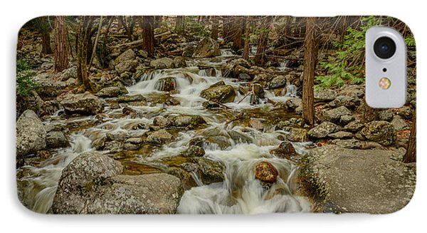 Bridalveil Creek In Yosemite IPhone Case by Terry Garvin