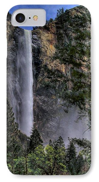 Bridalveil Falls IPhone Case by Bill Gallagher